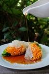 food - Vegetarian Roll - copyright Oneworld Retreats